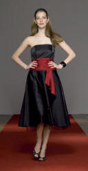 Monsoon black and red dress.